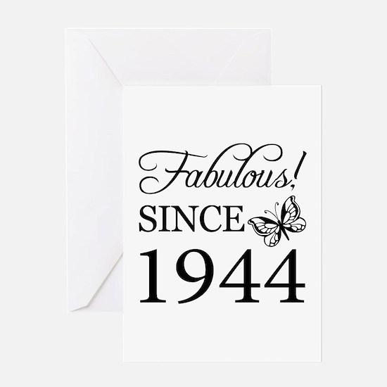 Fabulous Since 1944 Greeting Card