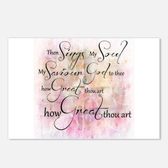 How great thou art Postcards (Package of 8)