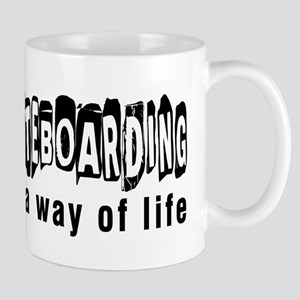 Skateboarding it is a way of life Mug