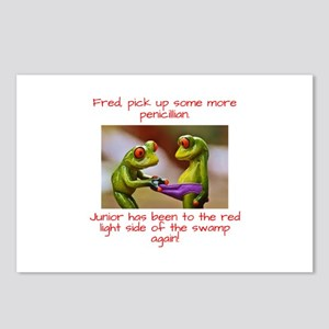 Junior the Naughty Frog Postcards (Package of 8)