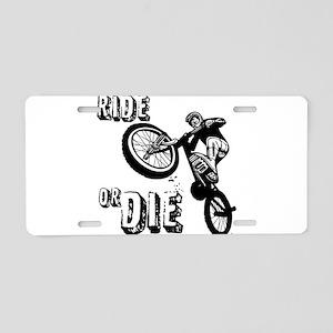 RIDE OR DIE Aluminum License Plate