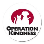 Operation Kindness Round Car Magnet