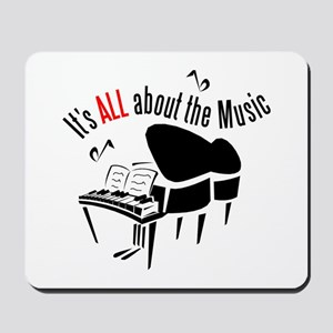 All About the Music Mousepad