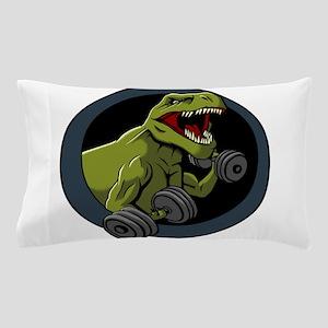 Big Guns T-rex Pillow Case
