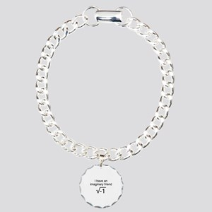 I Have An Imaginary Friend Charm Bracelet, One Cha