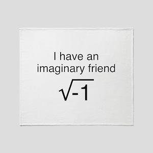I Have An Imaginary Friend Stadium Blanket