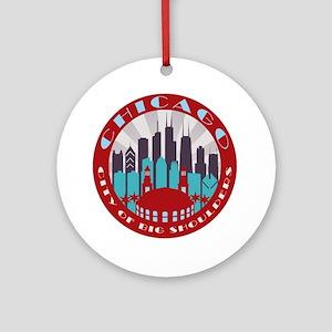 Chicago round Ornament (Round)