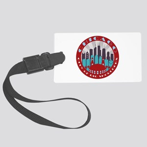 Chicago round Luggage Tag