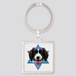 Hanukkah Star of David - Springer Square Keychain