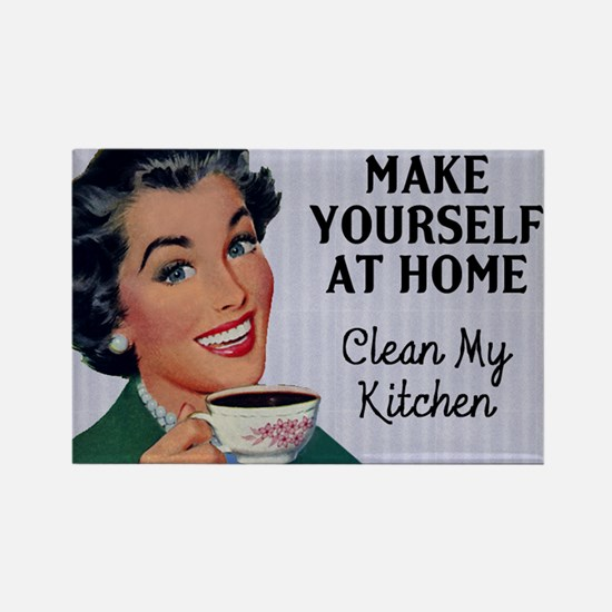 Make Yourself At Home Fridge Magnet