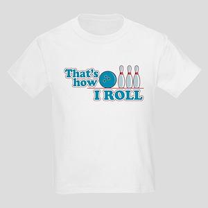 LUCKY BOWLING SHIRT Kids Light T-Shirt