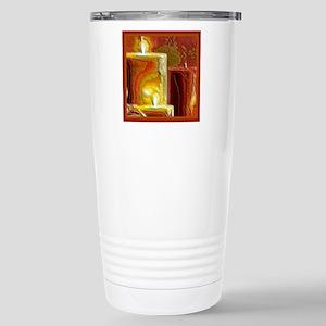 Holiday Light Stainless Steel Travel Mug