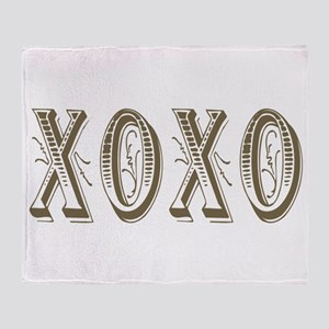 xoxo Throw Blanket