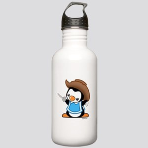 Cute Penguin Musketeer Stainless Water Bottle 1.0L