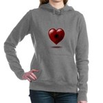 Wounded Heart Women's Hooded Sweatshirt