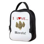 I Love Morels Neoprene Lunch Bag