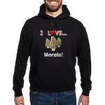 I Love Morels Hoodie (dark)