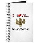 I Love Mushrooms Journal