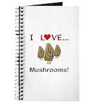 I Love Mushrooms Journal