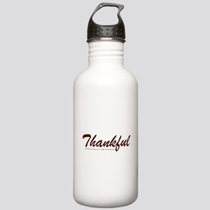 Thankful Stainless Water Bottle 1.0L