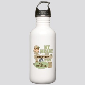 Christmas Soldier Stainless Water Bottle 1.0L