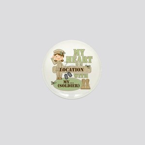 Christmas Soldier Mini Button
