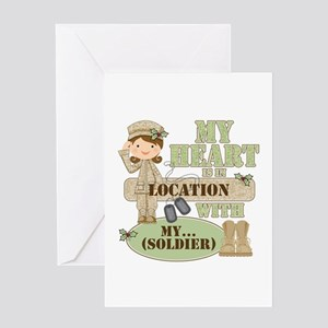 Christmas Soldier Greeting Card