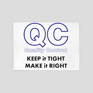 Quality Control 5'x7'Area Rug