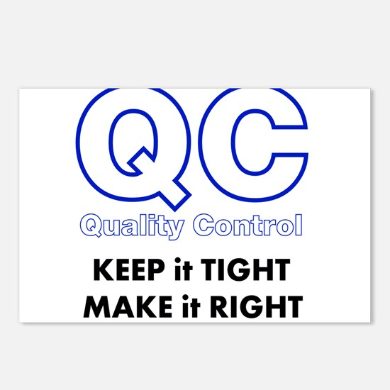 Quality Control Postcards (Package of 8)