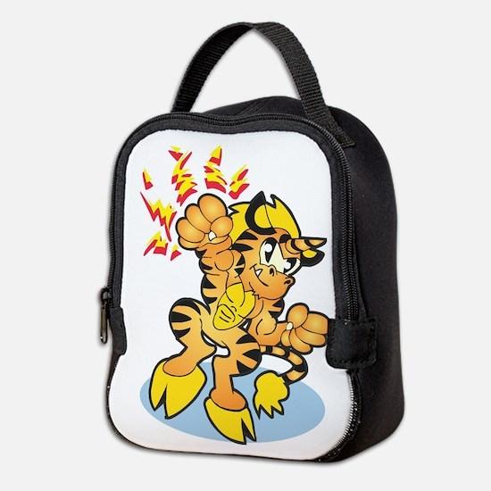 Tigrikorn Power Punch Neoprene Lunch Bag
