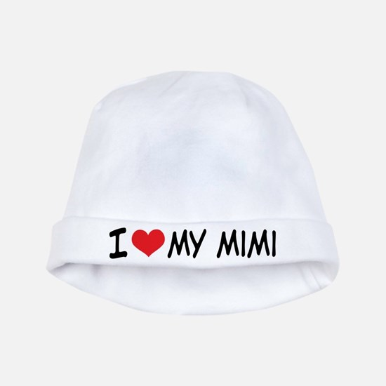 I Heart My Mimi baby hat