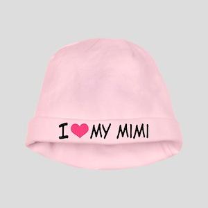 I Heart My Mimi baby hat