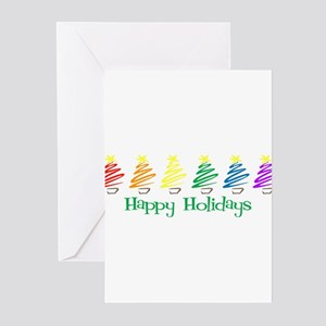 Happy Holidays (Rainbow Trees Greeting Cards (Pack