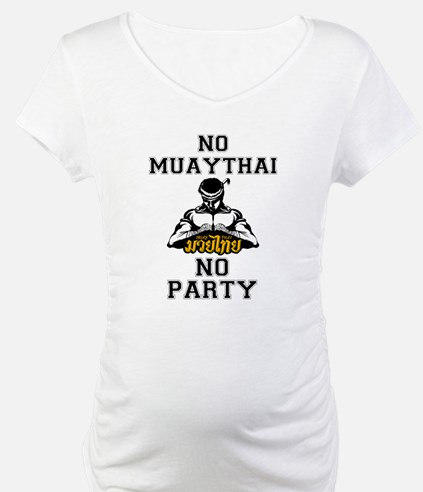 NO MUAYTHAI NO PARTY TRANS Shirt