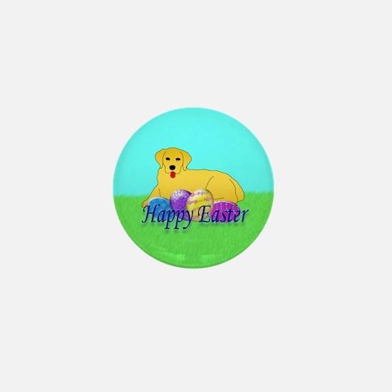 Golden Retriever Mini Button