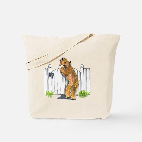 Cute Wheaten terriers Tote Bag