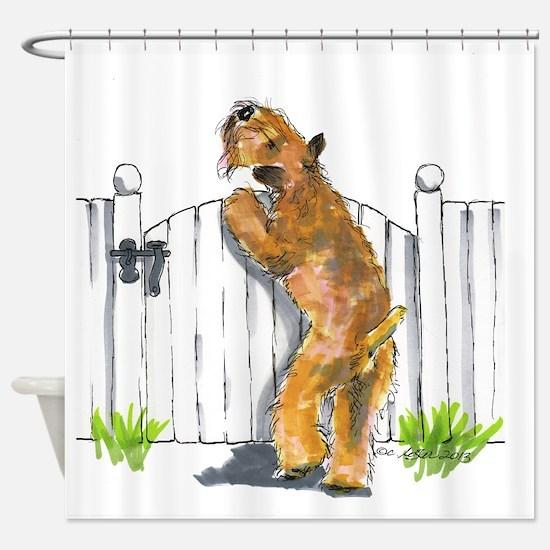 Cute Agility Shower Curtain