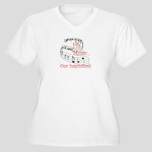 Our Inspiration Women's Plus Size V-Neck T-Shirt