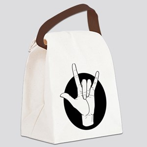 I Love You – ILY 01/01 Canvas Lunch Bag
