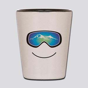 Happy Skier/Boarder Shot Glass