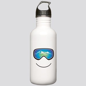 Happy Skier/Boarder Stainless Water Bottle 1.0L
