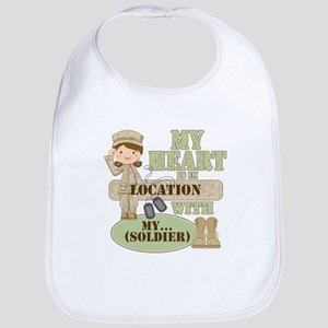 Heart With Soldier Bib