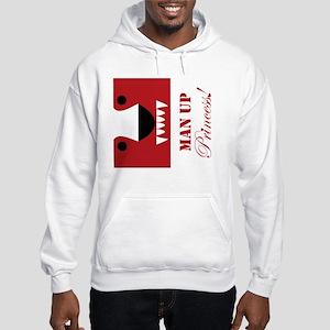 Man Up Princess Buffer Hooded Sweatshirt