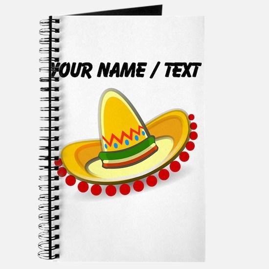 Custom Sombrero Journal