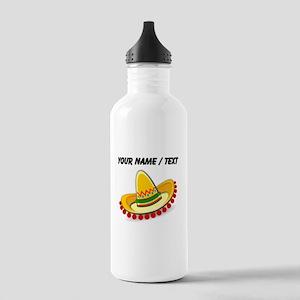 Custom Sombrero Water Bottle