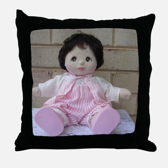 Mattel My Child Doll Throw Pillow