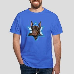 Hanukkah Star of David - Dobie Dark T-Shirt