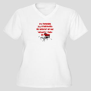 Retirement Women's Plus Size V-Neck T-Shirt
