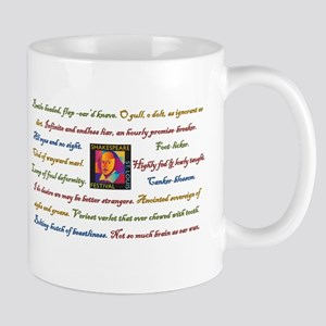 Shakespearean Insult Mugs