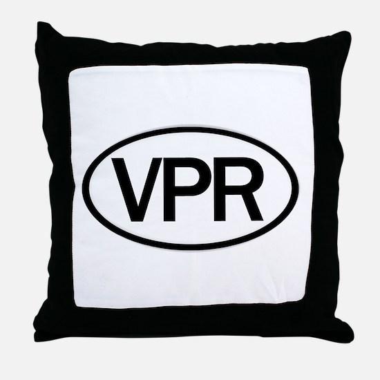 Vaper Euro Sticker Throw Pillow